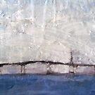 Hathaway Bridge on Foggy Day by Ashley Huston