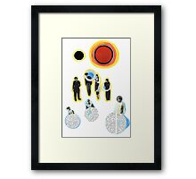 The Virtual Prize Year 2000. Framed Print
