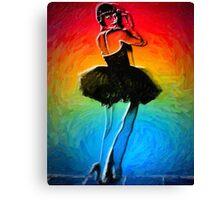 She's Like a Rainbow Canvas Print