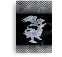 Pokemon Black Canvas Print