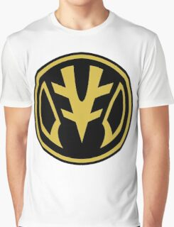 White Saber Zord Graphic T-Shirt