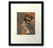 Nefertiti (as a fish) Framed Print