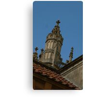 Juat roof in Bath Canvas Print