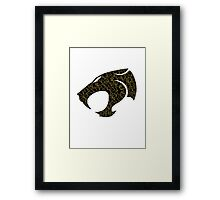 Cat Face Framed Print