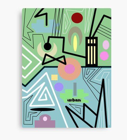 abstract urban 10 Canvas Print