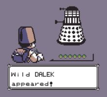 A Wild Dalek Appeared! by ScottW93