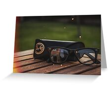 Ray Bans Greeting Card
