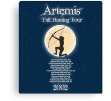 Artemis Fall Hunting Tour Canvas Print