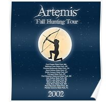 Artemis Fall Hunting Tour Poster