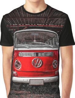Volkswagen combi Red Graphic T-Shirt