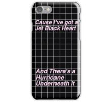 5SOS jet black heart Case iPhone Case/Skin