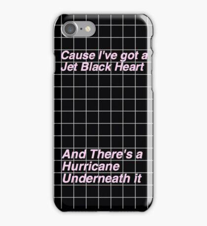 5SOS jet black heart Case iPhone Case/Skin