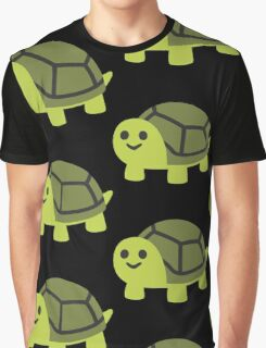 EMOJI TURTLE Graphic T-Shirt