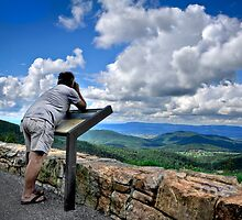 Gazing Upon the Shenandoah Valley by Joe Jennelle