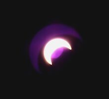 Solar Eclipse Purple Reflections by Pro Nature Photography