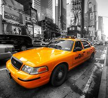 NYC Yellow Cab by Yhun Suarez