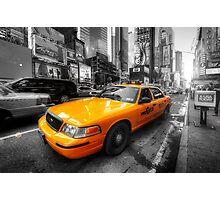 NYC Yellow Cab Photographic Print