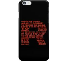 Team Rocket R Typography iPhone Case/Skin