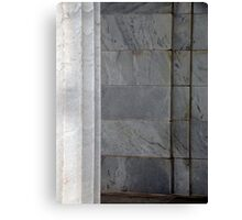 Marble on Marble. Canvas Print