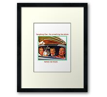 The Family Vacation Framed Print
