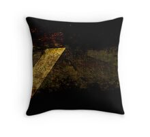 Textured Fabric Throw Pillow