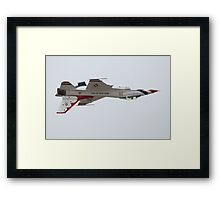 Air Force Thunderbirds Inverted Flying 6 Framed Print