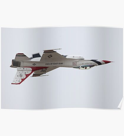 Air Force Thunderbirds Inverted Flying 6 Poster