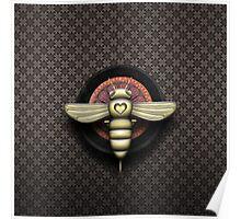 Bee Cyborg V1 Poster