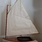 Nice sail for the shelf by Joseph Allert