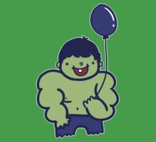 The Hulk and his ballon by saltyblack