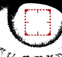 I am watching - RED -  POI Sticker