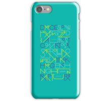 Rapture - Blue iPhone Case/Skin