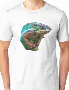 Colorful Chameleon Mosaic Unisex T-Shirt
