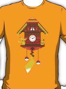 Pikachu-chu Clock T-Shirt