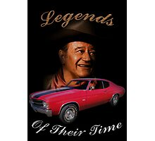 Legends of their Time Photographic Print