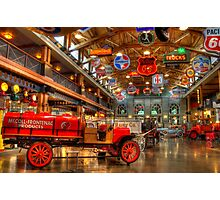 Automobile Paradise Photographic Print