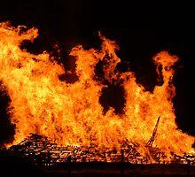 Firey Explosion by cadellin