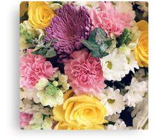Floral Pastels Canvas Print