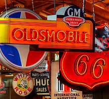 Vintage Neon Signs by Bob Christopher