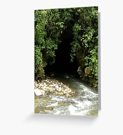 Cavemouth Greeting Card