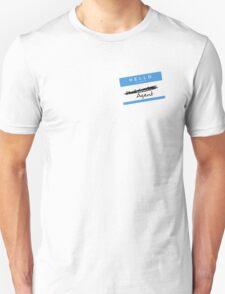 Hi, My name is... Agent? (Blue) Unisex T-Shirt