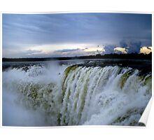 Iguazu Sunset Poster