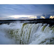 Iguazu Sunset Photographic Print