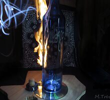 Flaming Tequila by nakedlunch02