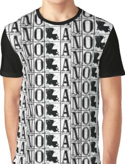 NOLA Street Tiles Graphic T-Shirt