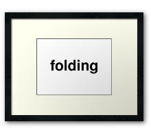 folding Framed Print