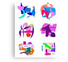 Talkative Canvas Print