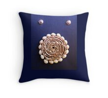 Shell Roundel Throw Pillow