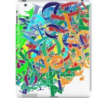Mess with Bodoni iPad Case/Skin