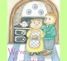 WE'RE EXPECTING by Lynn Wright